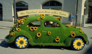 A German landscaping company wins the award for Greenest Car